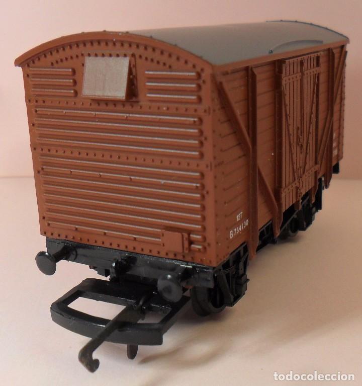 Trenes Escala: HORNBY (ELECTROTREN) H0 - Vagón cerrado de mercancías - Foto 2 - 83569084