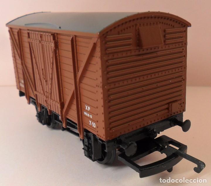 Trenes Escala: HORNBY (ELECTROTREN) H0 - Vagón cerrado de mercancías - Foto 3 - 83569084