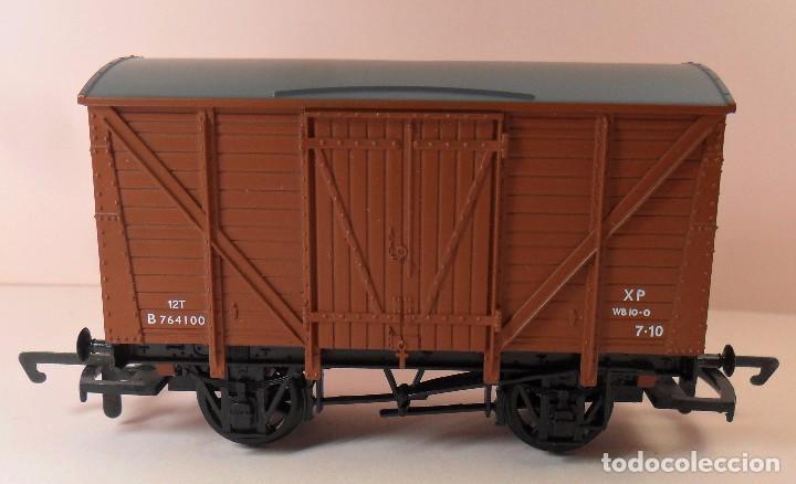 Trenes Escala: HORNBY (ELECTROTREN) H0 - Vagón cerrado de mercancías - Foto 4 - 83569084
