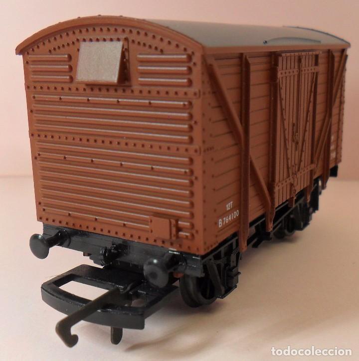 Trenes Escala: HORNBY (ELECTROTREN) H0 - Vagón cerrado de mercancías - Foto 5 - 83569084
