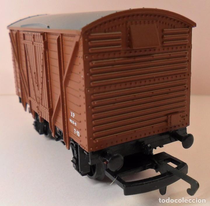 Trenes Escala: HORNBY (ELECTROTREN) H0 - Vagón cerrado de mercancías - Foto 6 - 83569084