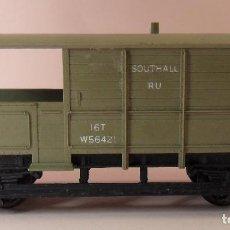 Trenes Escala: HORNBY (ELECTROTREN) H0 - VAGÓN DE MATERIALES. Lote 83569592