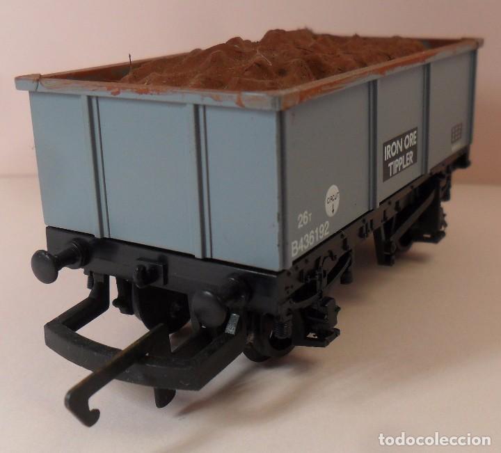 Trenes Escala: HORNBY (ELECTROTREN) H0 - Vagón abierto con carga - Foto 2 - 83621976