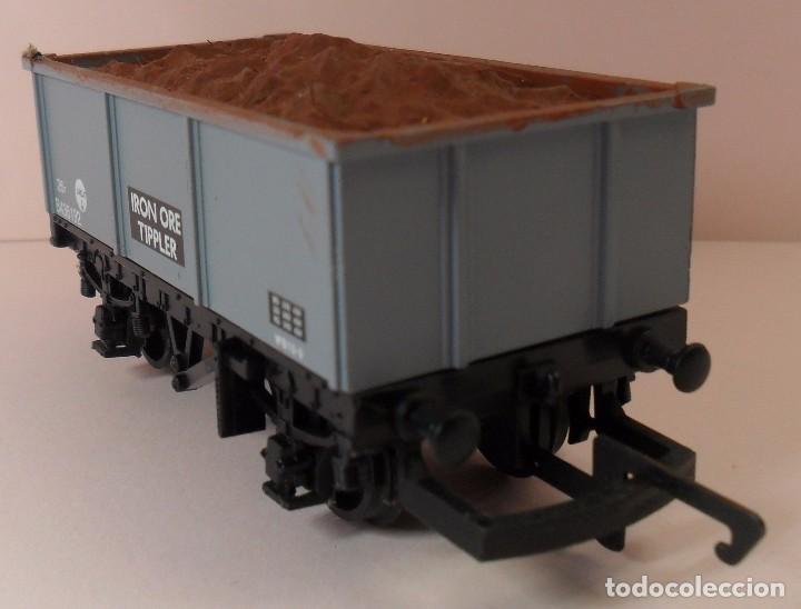 Trenes Escala: HORNBY (ELECTROTREN) H0 - Vagón abierto con carga - Foto 3 - 83621976