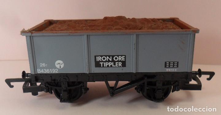 Trenes Escala: HORNBY (ELECTROTREN) H0 - Vagón abierto con carga - Foto 4 - 83621976
