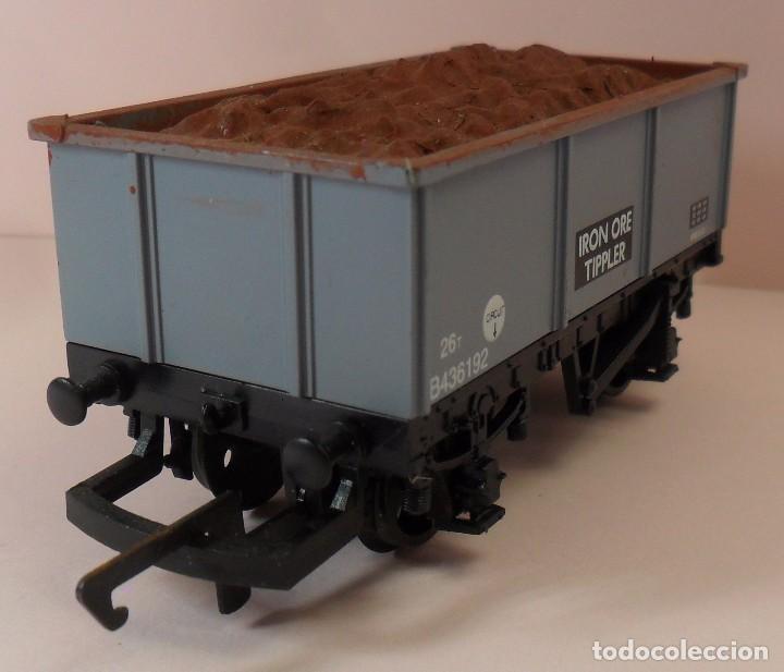 Trenes Escala: HORNBY (ELECTROTREN) H0 - Vagón abierto con carga - Foto 5 - 83621976