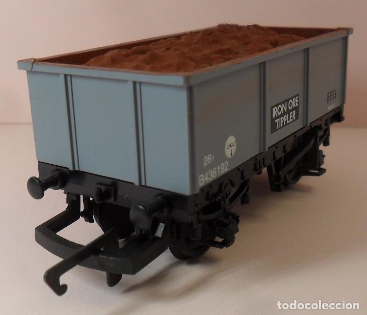 Trenes Escala: HORNBY (ELECTROTREN) H0 - Vagón abierto con carga - Foto 2 - 83622108