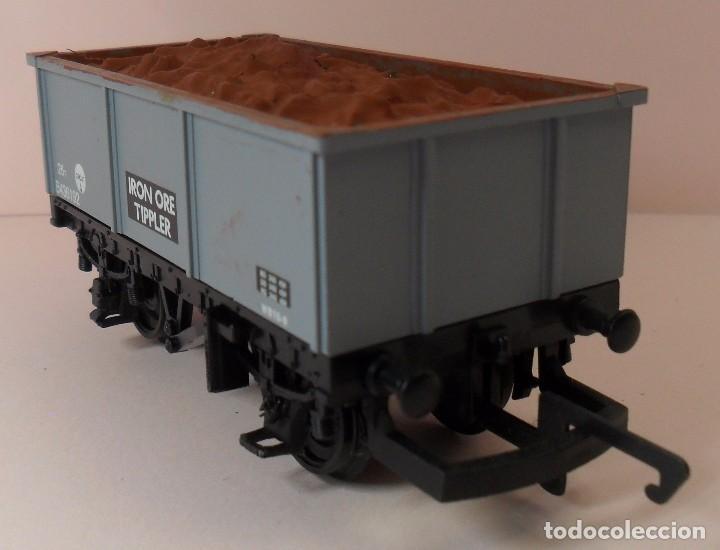 Trenes Escala: HORNBY (ELECTROTREN) H0 - Vagón abierto con carga - Foto 3 - 83622108