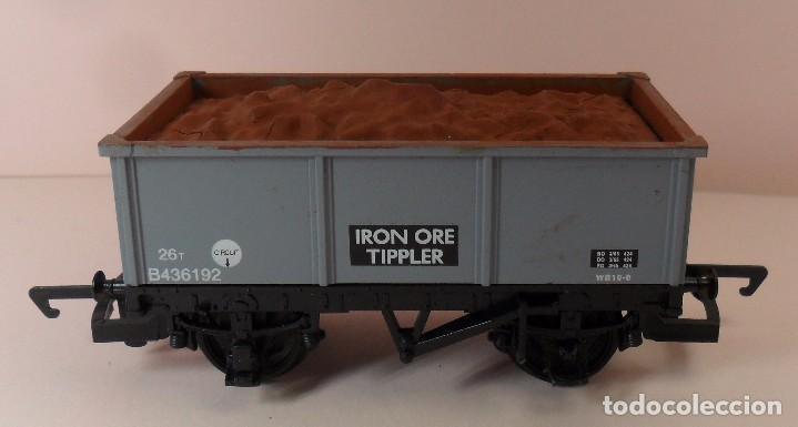 Trenes Escala: HORNBY (ELECTROTREN) H0 - Vagón abierto con carga - Foto 4 - 83622108