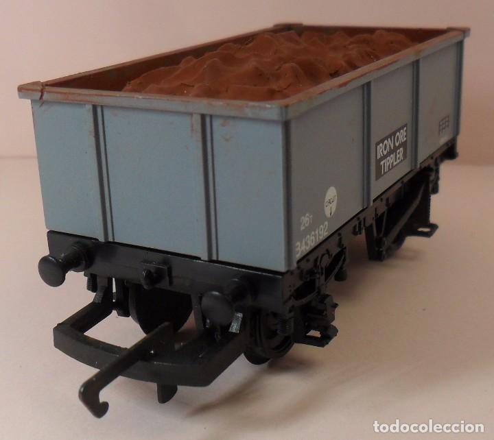 Trenes Escala: HORNBY (ELECTROTREN) H0 - Vagón abierto con carga - Foto 5 - 83622108