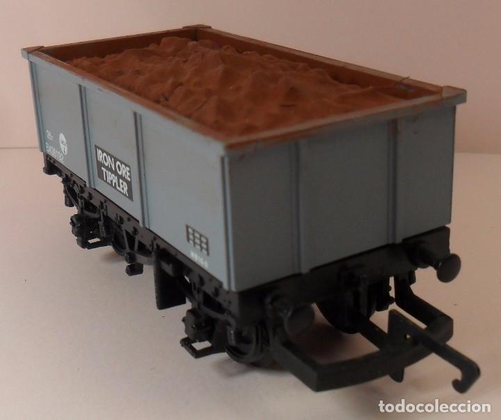 Trenes Escala: HORNBY (ELECTROTREN) H0 - Vagón abierto con carga - Foto 6 - 83622108