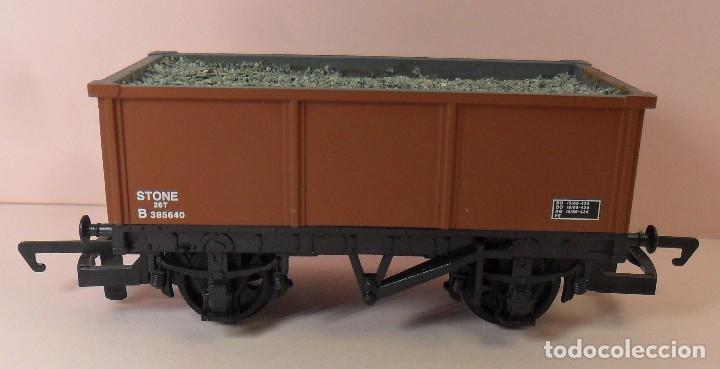 HORNBY (ELECTROTREN) H0 - VAGÓN ABIERTO CON CARGA (Juguetes - Trenes Escala H0 - Hornby H0)