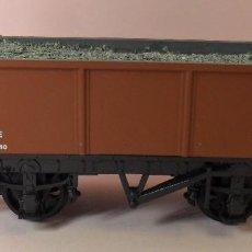 Trenes Escala: HORNBY (ELECTROTREN) H0 - VAGÓN ABIERTO CON CARGA. Lote 83623308