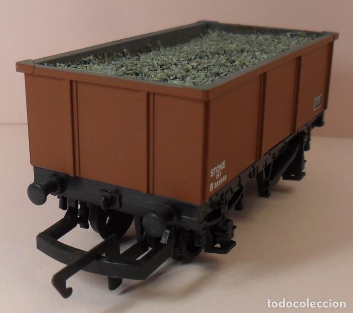 Trenes Escala: HORNBY (ELECTROTREN) H0 - Vagón abierto con carga - Foto 2 - 83623308