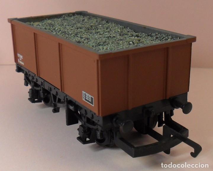 Trenes Escala: HORNBY (ELECTROTREN) H0 - Vagón abierto con carga - Foto 3 - 83623308