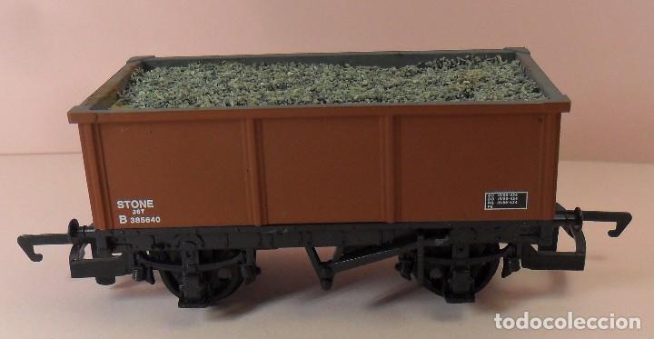 Trenes Escala: HORNBY (ELECTROTREN) H0 - Vagón abierto con carga - Foto 4 - 83623308