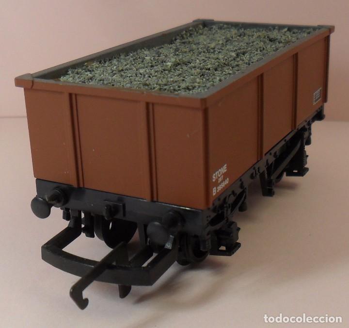 Trenes Escala: HORNBY (ELECTROTREN) H0 - Vagón abierto con carga - Foto 5 - 83623308