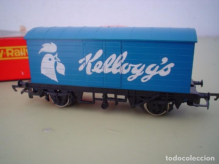 VAGON SILVER SEAL KELLOGG, S HORNBY-RAILWAYS (Juguetes - Trenes Escala H0 - Hornby H0)