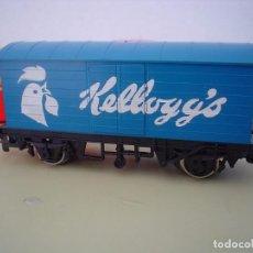 Trenes Escala: VAGON SILVER SEAL KELLOGG, S HORNBY-RAILWAYS. Lote 86059056