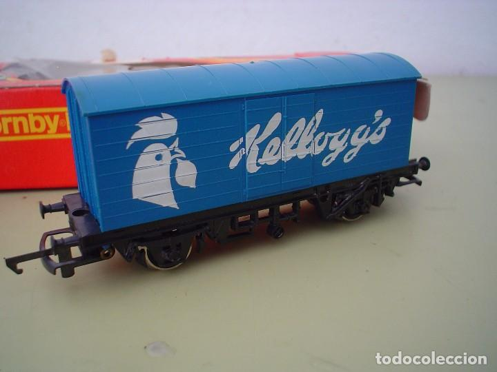 Trenes Escala: VAGON SILVER SEAL KELLOGG, S HORNBY-RAILWAYS - Foto 4 - 86059056