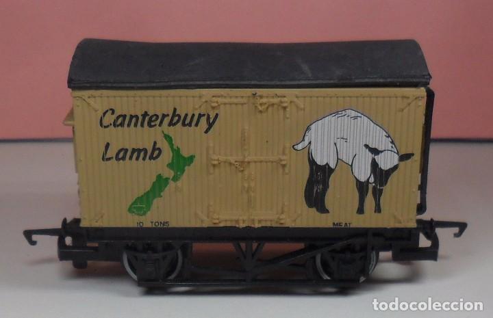 HORNBY - VAGÓN CERRADO CANTERBURY LAMB (Juguetes - Trenes Escala H0 - Hornby H0)