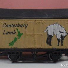Trenes Escala: HORNBY - VAGÓN CERRADO CANTERBURY LAMB . Lote 89804220