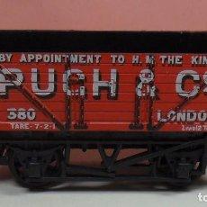 Trenes Escala: HORNBY - VAGÓN ABIERTO PUCH & CO. Lote 89804456