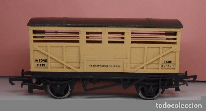 Trenes Escala: HORNBY 00 - Vagón para ganado - Foto 3 - 89858388