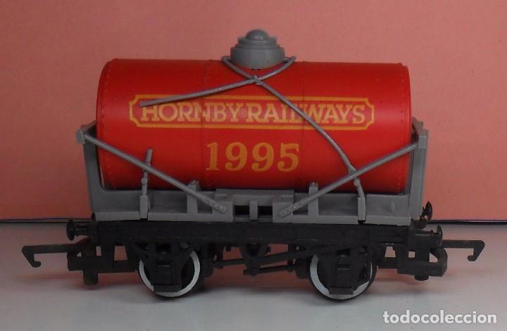 HORNBY 00 - VAGÓN CISTERNA HORNBY RAILWAYS 1995 (Juguetes - Trenes Escala H0 - Hornby H0)