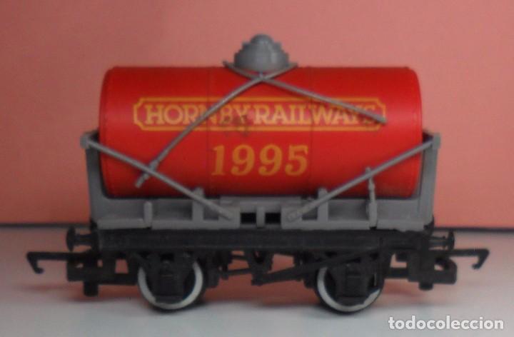 Trenes Escala: HORNBY 00 - Vagón cisterna HORNBY RAILWAYS 1995 - Foto 3 - 89932724