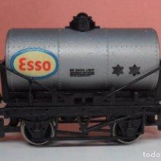 Trenes Escala: HORNBY 00 - VAGÓN CISTERNA ESSO. Lote 89937396