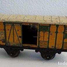 Trenes Escala: VAGÓN DE LA MARCA MECCANO HORNBY. WAGON PRIMEUR. Lote 93754145