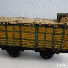 Trenes Escala: VAGÓN DE LA MARCA MECCANO HORNBY. VAGÓN PARA LA LECHE. Lote 93774945