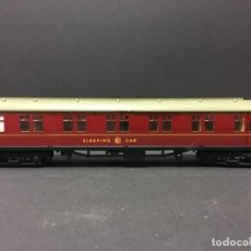 Trenes Escala: VAGÓN COCHE CAMA HORNBY DUBLO AÑOS 60 MODELO W2402.. Lote 107132067