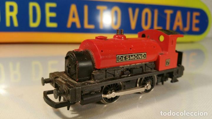 LOOMOTORA ELECTRICA HORNBY DESMOND, FUNCIONA (Juguetes - Trenes Escala H0 - Hornby H0)