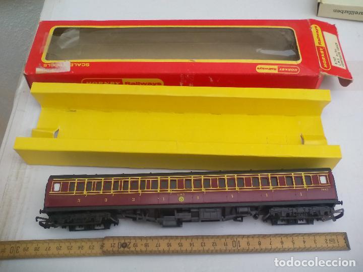 Trenes Escala: Vagón de tren Tri-ang Hornby Railways Composite Coach. R 747. Sin las ruedas - Foto 3 - 111324755