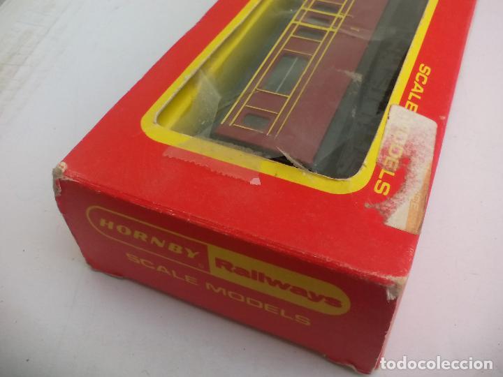 Trenes Escala: Vagón de tren Tri-ang Hornby Railways Composite Coach. R 747. Sin las ruedas - Foto 8 - 111324755