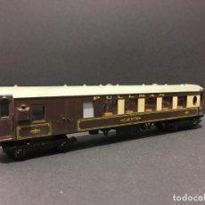 Trenes Escala: VAGÓN PASAJEROS PULLMAN COCHE 79 HORNBY DUBLO AÑOS 60. Lote 111789059