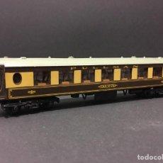 Trenes Escala: VAGÓN PASAJEROS PULLMAN COCHE 74 HORNBY DUBLO AÑOS 60. Lote 111789891