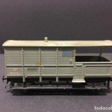 Trenes Escala: VAGÓN DE MERCANCIAS HORNBY DUBLO AÑOS 60 MODELO 4312. Lote 111790727