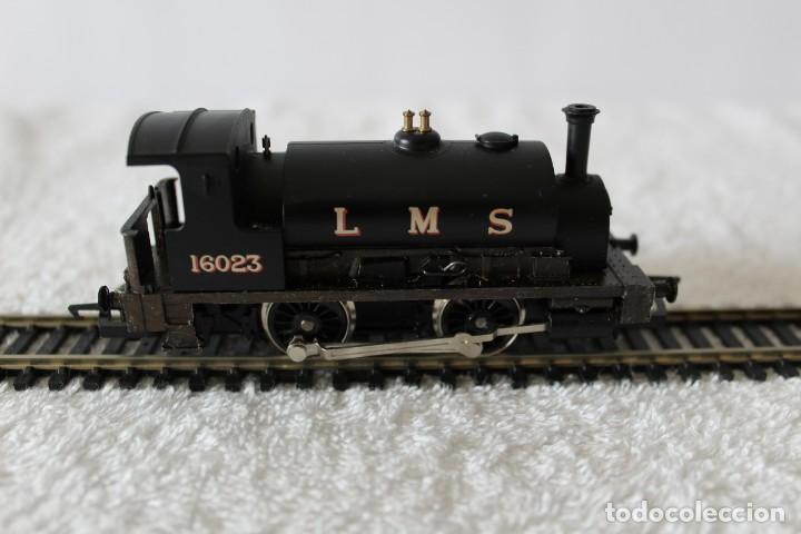 Trenes Escala: HORNBY LOTE MATERIAL TREN (ESCALA HO): LOCOMOTORA, VIAS, VAGON, TRANSFORMADOR ............ - Foto 2 - 132170750