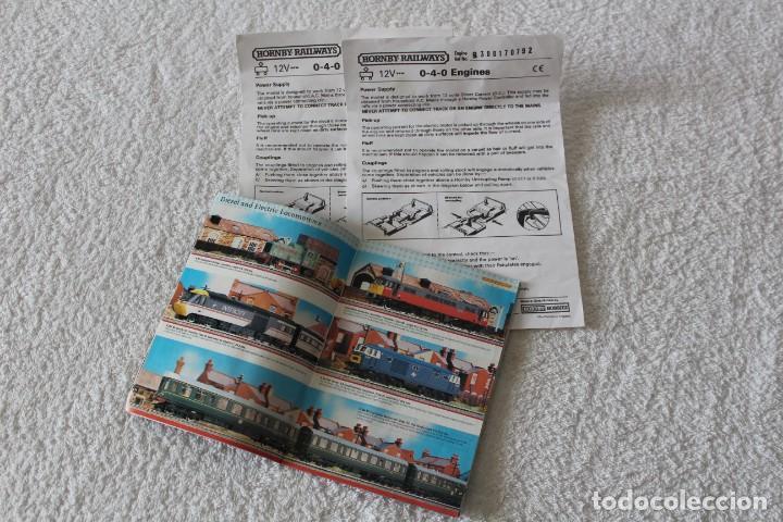 Trenes Escala: HORNBY LOTE MATERIAL TREN (ESCALA HO): LOCOMOTORA, VIAS, VAGON, TRANSFORMADOR ............ - Foto 19 - 132170750