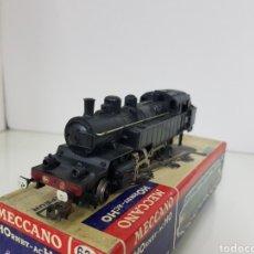Trenes Escala: LOCOMOTORA DE VAPOR MECANO 636 NEGRA DE 17 CM. Lote 150068065