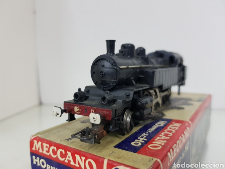 Trenes Escala: Locomotora de vapor Mecano 636 negra de 17 cm - Foto 2 - 150068065