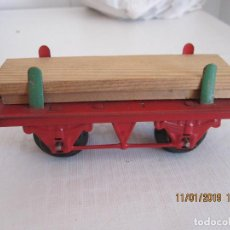 Trenes Escala: ANTIGUO VAGON DE TREN HORNBY DE MECCANO. Lote 152001674