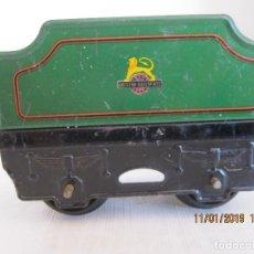 Trenes Escala: ANTIGUO VAGON DE TREN TENDER DE HORNBY DE MECCANO. Lote 152004106