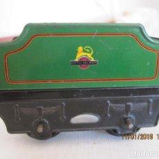 Trenes Escala: ANTIGUO VAGON DE TREN TENDER DE HORNBY DE MECCANO. Lote 152004294