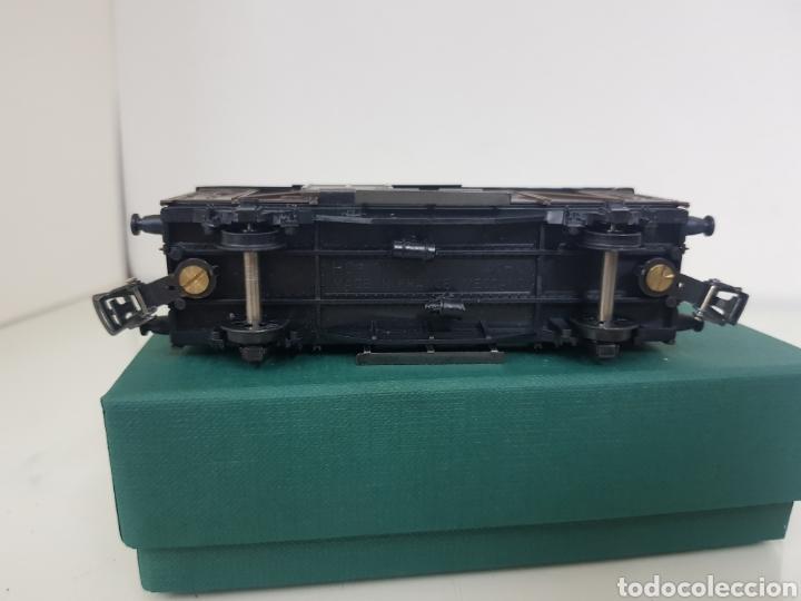 Trenes Escala: Hornby escala H0 corriente continua vagón marrón de 12 cm escala H0 - Foto 6 - 156836308