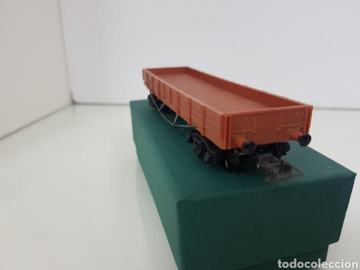 Trenes Escala: Vagón de mercancías abierto de perfil bajo de la SNCF francesa Hornby Meccano de 14 centímetros - Foto 2 - 156994232
