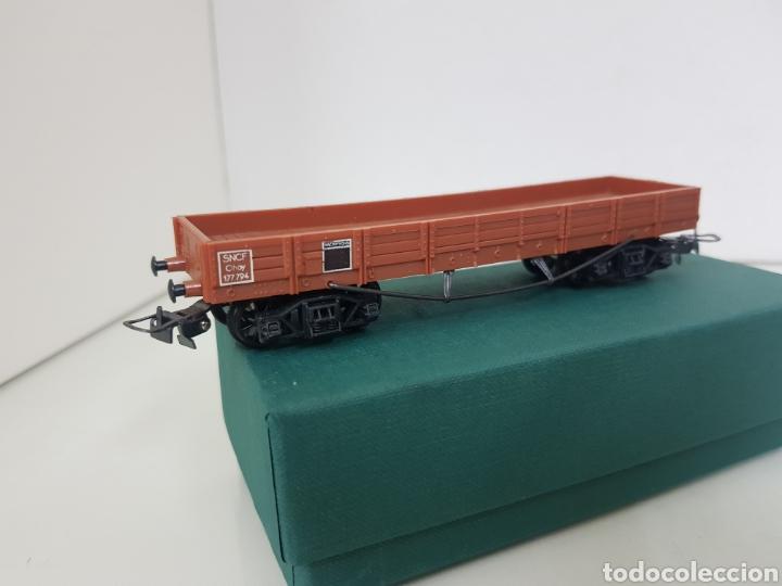 Trenes Escala: Vagón de mercancías abierto de perfil bajo de la SNCF francesa Hornby Meccano de 14 centímetros - Foto 3 - 156994232